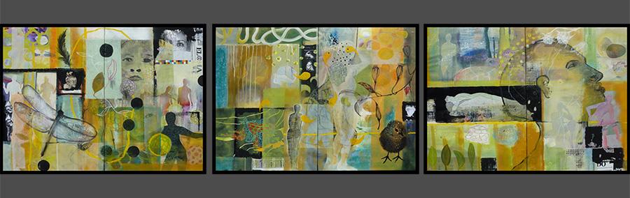 Sabine Pillwitz-Schaum, Serie Visionen