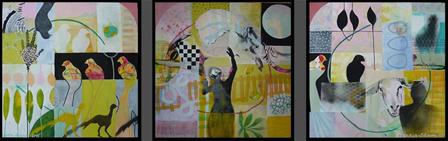 Sabine Pillwitz-Schaum, Serie Wege